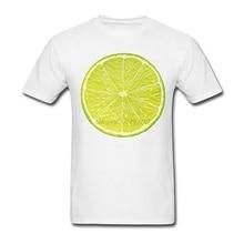 """""""Lemon Slice"""" Vegan men's t-shirt"""