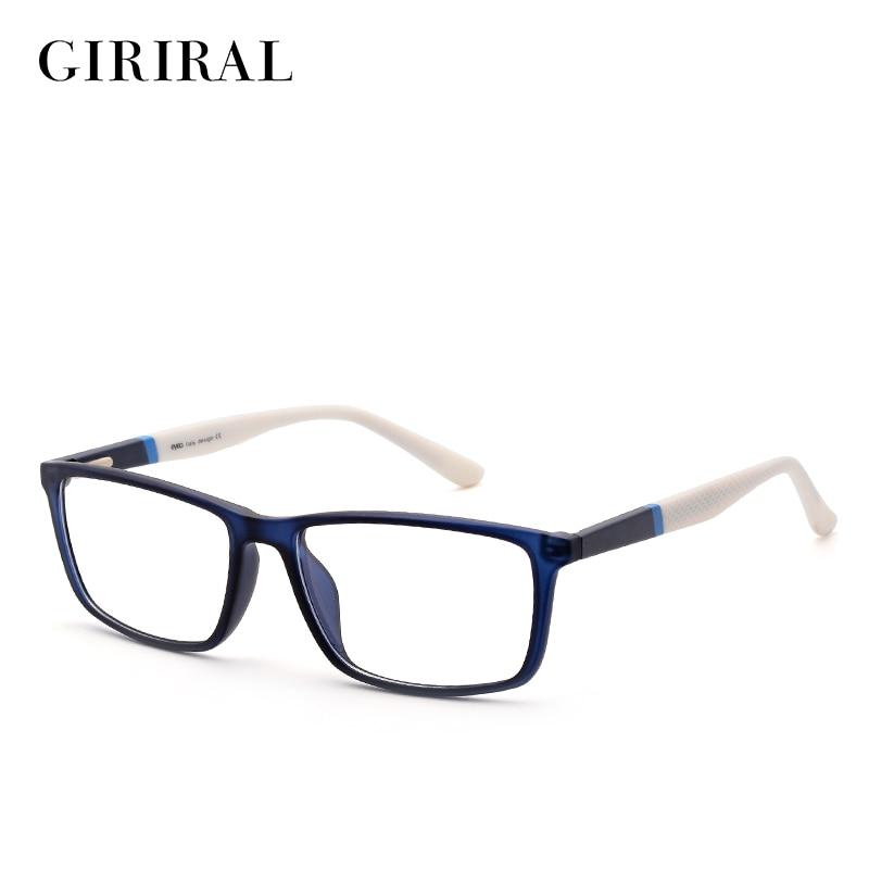 clear plastic eyeglass frames