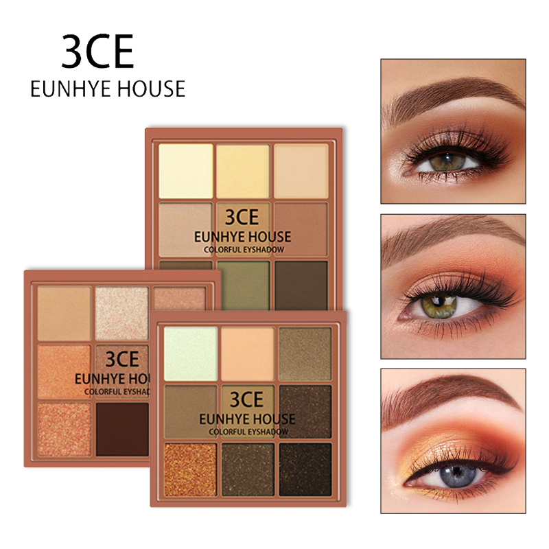 3CE EUNHYE HOUSE Charming Eyeshadow 9 Color Palette Make up Matte Shimmer Pigmented Eye Shadow Powder Waterproof Easy to Wear3CE EUNHYE HOUSE Charming Eyeshadow 9 Color Palette Make up Matte Shimmer Pigmented Eye Shadow Powder Waterproof Easy to Wear
