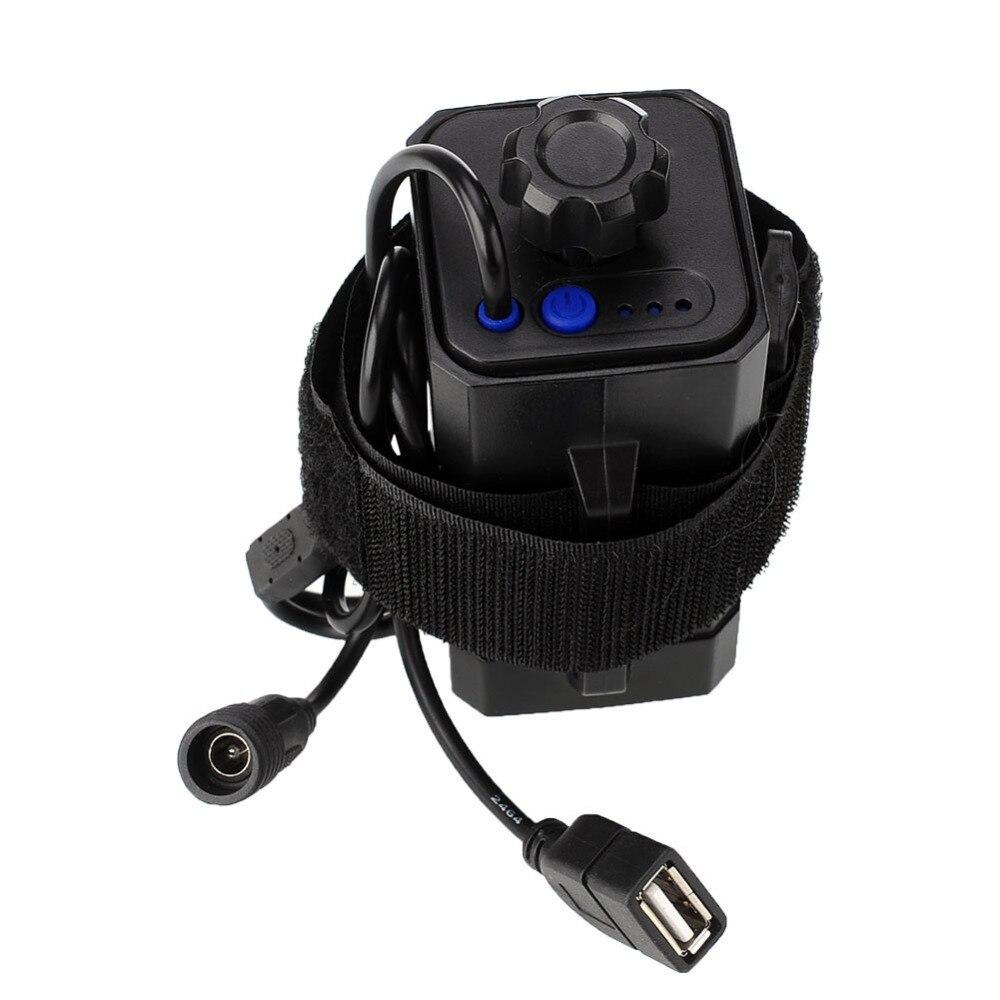 Купить dc & usb разъем 4x18650 водонепроницаемый аккумулятор чехол