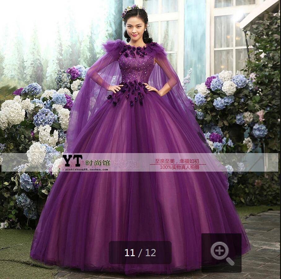 Pretty Purple Wedding Dresses | Dress images