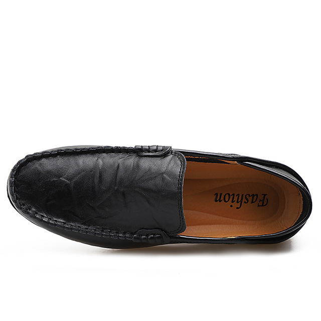 Genuine Leather Men's Classical Loafers