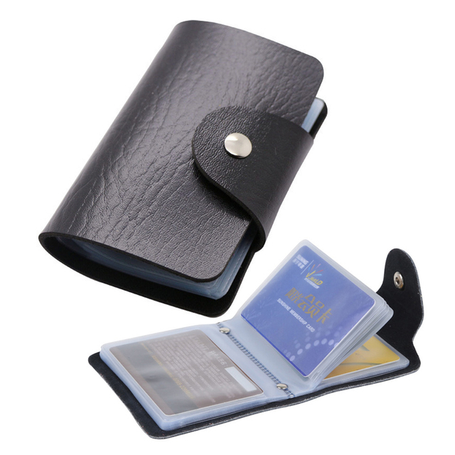 Business card plastic wallets image collections card design and 24bit credit card holder waterproof plastic card sets pu leather 24bit credit card holder waterproof plastic reheart Images