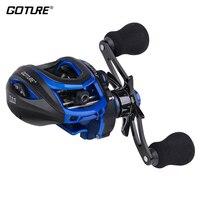 Goture SCOTTA Baitcasting Fishing Reel Dual Brake 8kg Max Drag 7.1:1 Moulinet Bait Casting Reel for Fishing Wheel Coil