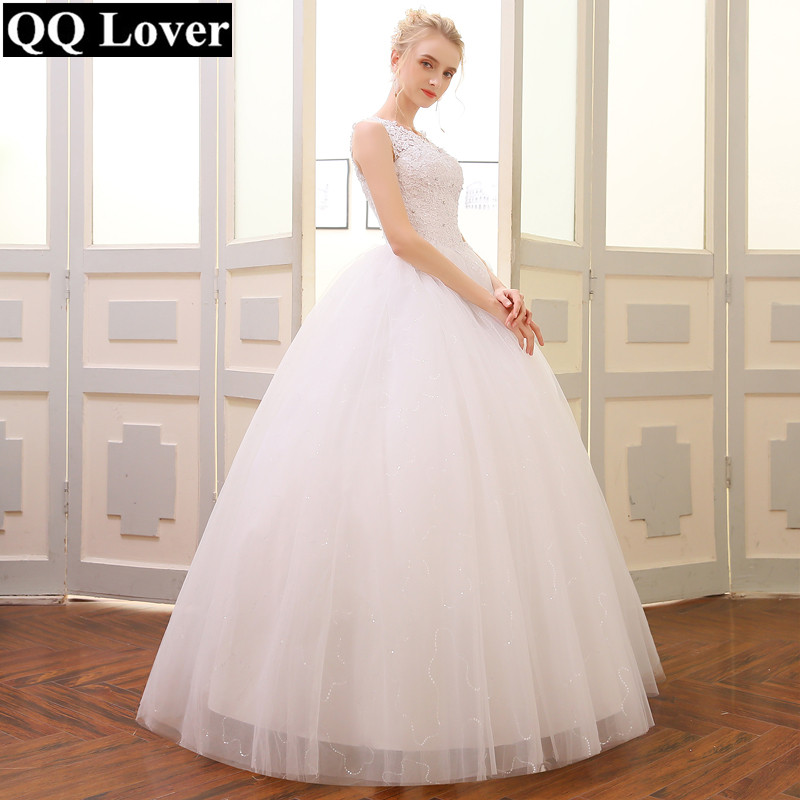 aceb0716f0133 QQ Lover 2019 Ball Gown Wedding Dress 2019 Customized Plus Size Vestido De  Novia Bridal Dress-in Wedding Dresses from Weddings & Events on  Aliexpress.com ...
