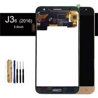 SzHAIyu Tested Adjust Brightness LCD Display Touch Screen For Samsung Galaxy J3 2016 J320 J320F J320FN