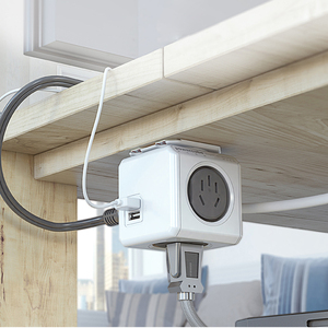 Image 5 - Allocacoc Original Smart Home Electronic Plug powercube Power Strip Socket Charging USB 4 Sockets Interface Extension Australia
