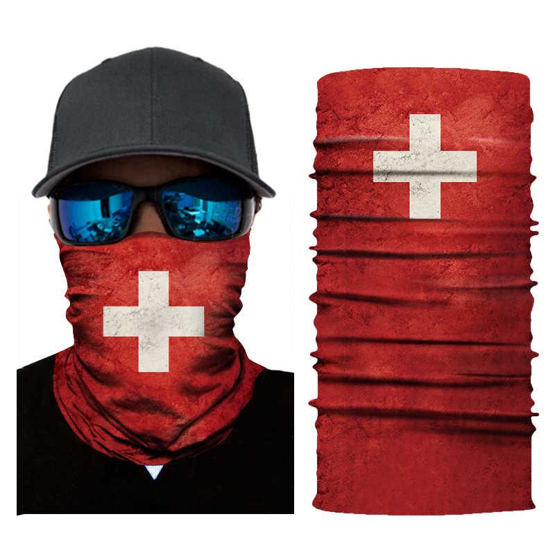 العلم الوطني دراجة نارية ماجيك بالاكلافا الوجه أقنعة سلس التزلج ركوب وشاح الرقبة درع المضادة للأشعة فوق البنفسجية أدفأ باندانا