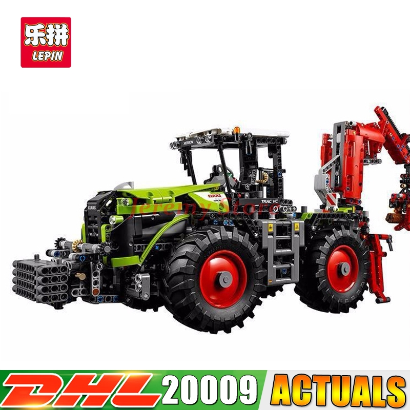 2018 LEPIN 20009 1977pcs technic series The tractor LEPIN Model Building blocks Bricks Compatible Toy 42054