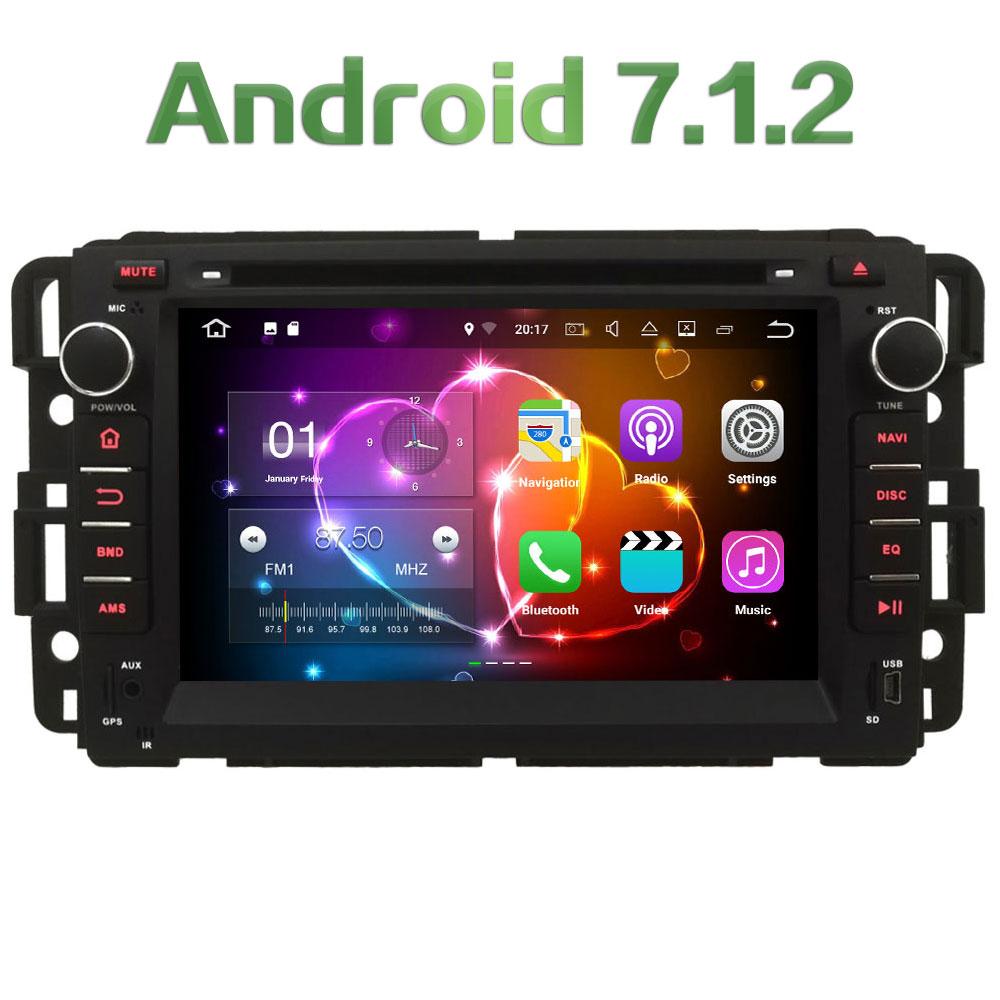 4G WIFI Android 7 1 2 2GB RAM DAB SWC Car DVD font b Multimedia b