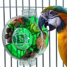 CAITEC игрушки попугай большое колесо для кормушки жесткое прочное устойчивое к укусам подходит для средних или больших попугаев Классические игрушки для птиц