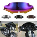 "5 Colors Motorcycle 6"" Wave Windshield Windscreen For 1996-2013 Harley FLHT FLHTC FLHX Glide Touring Motorbike Windscreen"