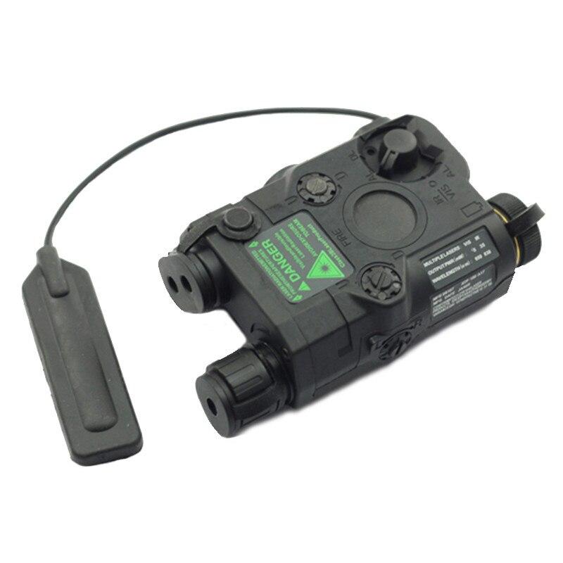 AN/PEQ-15 point rouge Laser blanc lampe de poche LED 270 Lumens pour Standard 20mm rail Vision nocturne chasse fusil étui de batterie élément - 2