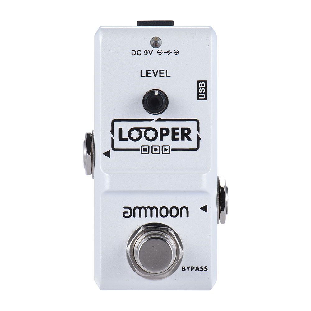 Ammoon AP-09 Nano Loop Effect Pedal Looper Electric Guitar Effect Pedal True Bypass High Quality Guitar Parts & Accessories