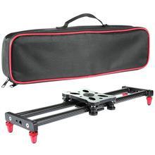 40 см камера слайдер Регулируемый из углеродного волокна Камера Долли трек слайдер видео стабилизатор рельс для камеры DSLR видео фотографии r25