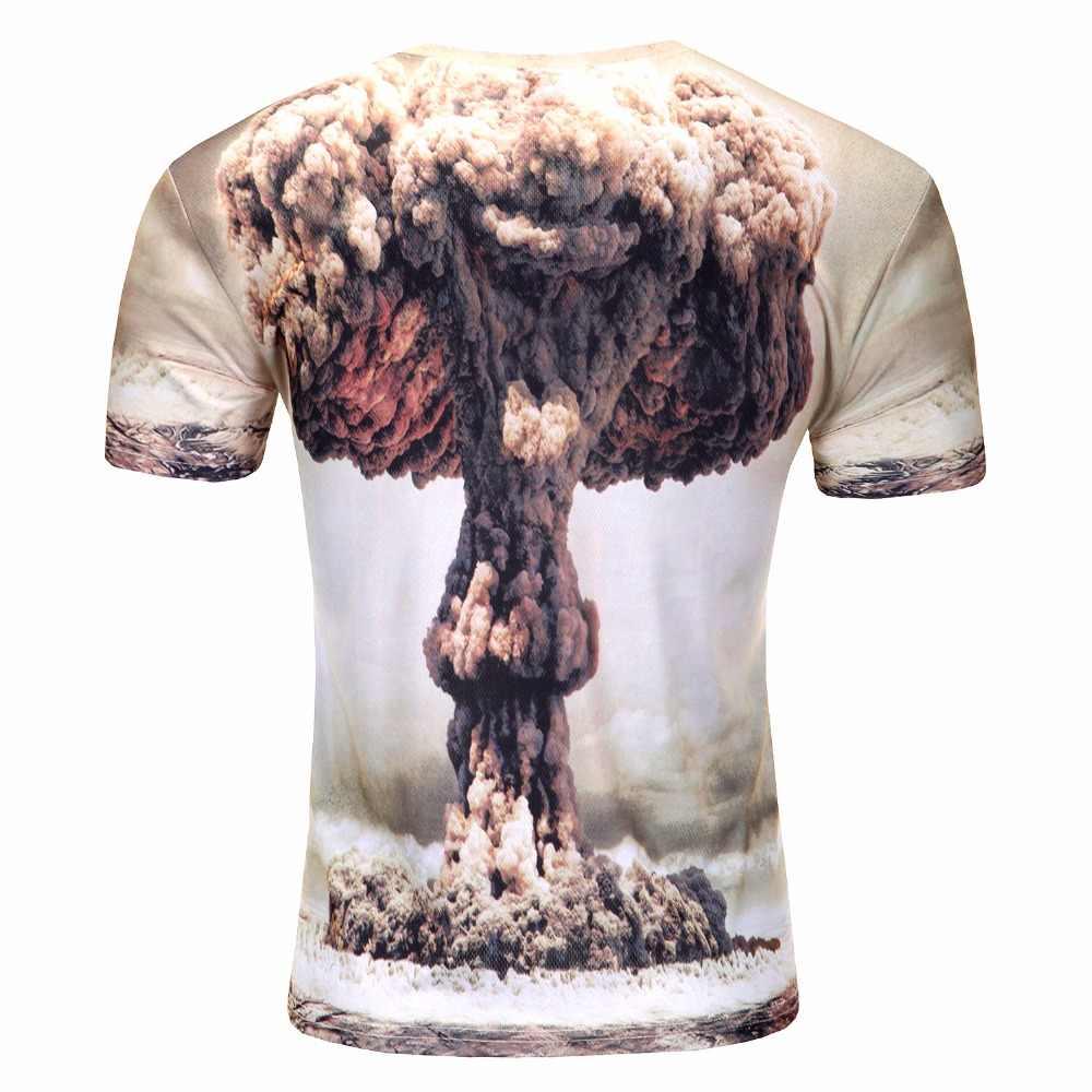 2019 водная капля Мобильная 3D печать с короткими рукавами Мужская Футболка Harajuku летняя Грут Мужская футболка Топы Плюс Размер рубашка SBKENI