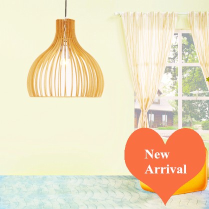 2016 modern rural style Ply-Wood Chandelier E27 LED lamp handmade indoor led lights for stairs&living room&corridor BT207-450