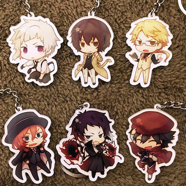 Free shipping anime bungou stray dogs atsushi nakajima on acrylic free shipping anime bungou stray dogs atsushi nakajima on acrylic measure gift keychain cartoon figure phone voltagebd