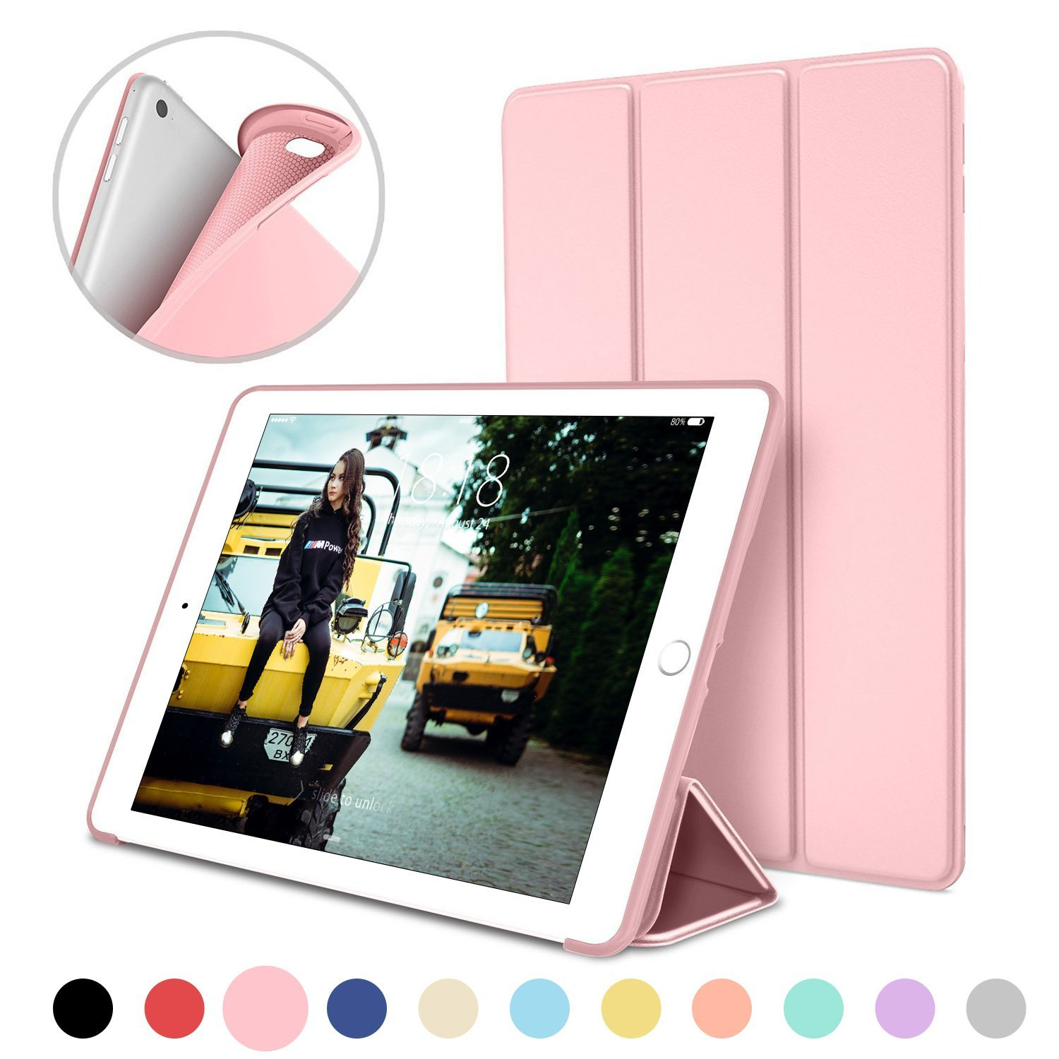 For iPad Mini 4 Case A1538 A1550 PU Leather Ultra Slim Smart Cover+Silicone Soft Back Cover for Apple iPad Mini4 Case Wake Sleep стоимость