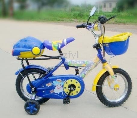 child the gift Of the chain cover 12-inch children bicycle / to send our