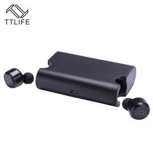 TTLIFE Newest Upgrade X2T Sweatproof Wireless Bluetooth Earphone V4.2 Sport Stereo Headphones Headset with 1500mAh charger box