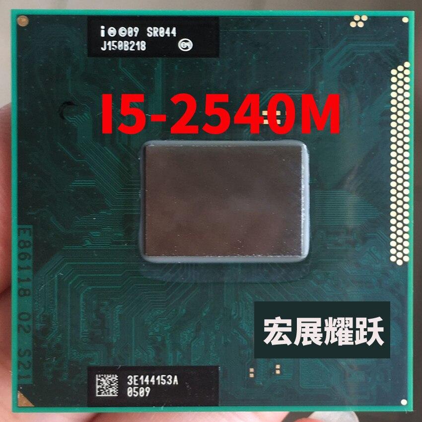 Intel Core i5-2540M Processador i5 2540 M CPU notebook Laptop Tomada G2 (rPGA988B) SR044