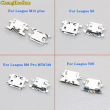 ChengHaoRan 5pcs Mini Micro USB For Leagoo M5 Plus S8 T8S M9 Pro MT6739V Power Charging Port Jack Socket Plug Connector(China)