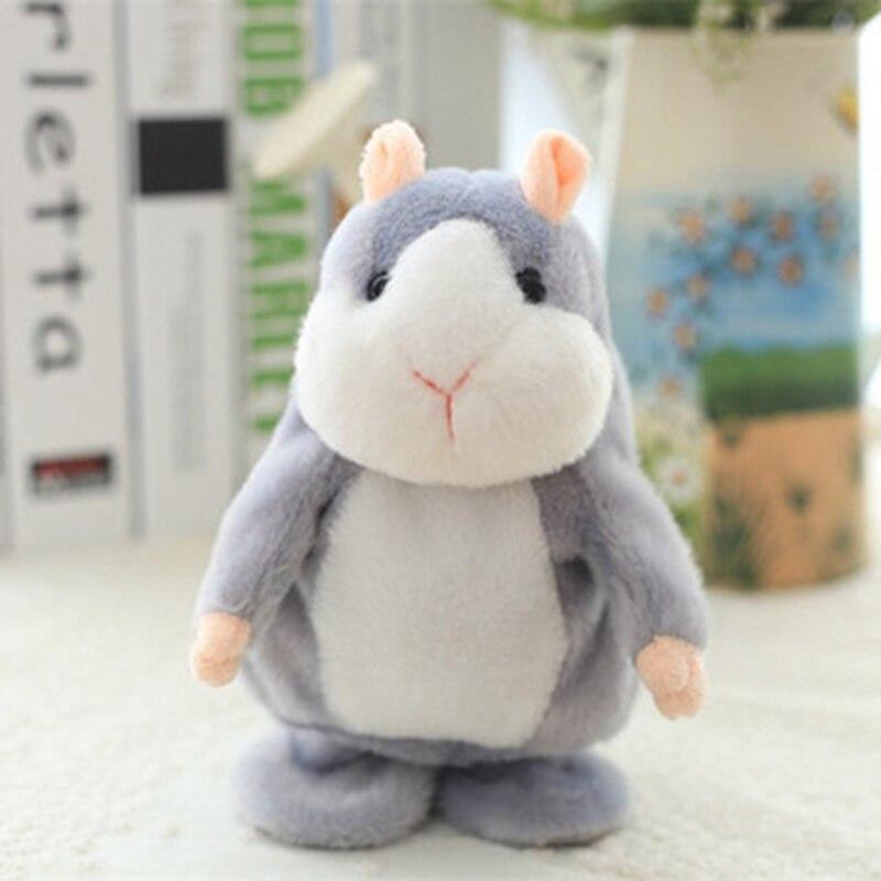 15cm Cute Hamster Soft Plush Toys Speaker Stuffed Doll Kids Pillow Birthday kids beeztees 801445 hamster