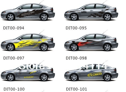 Ford Car Stickers Decals Car Stickers For Fiesta Focus Mondeo - Cool car decals designpersonalized whole car stickersenglish automotive garlandtc