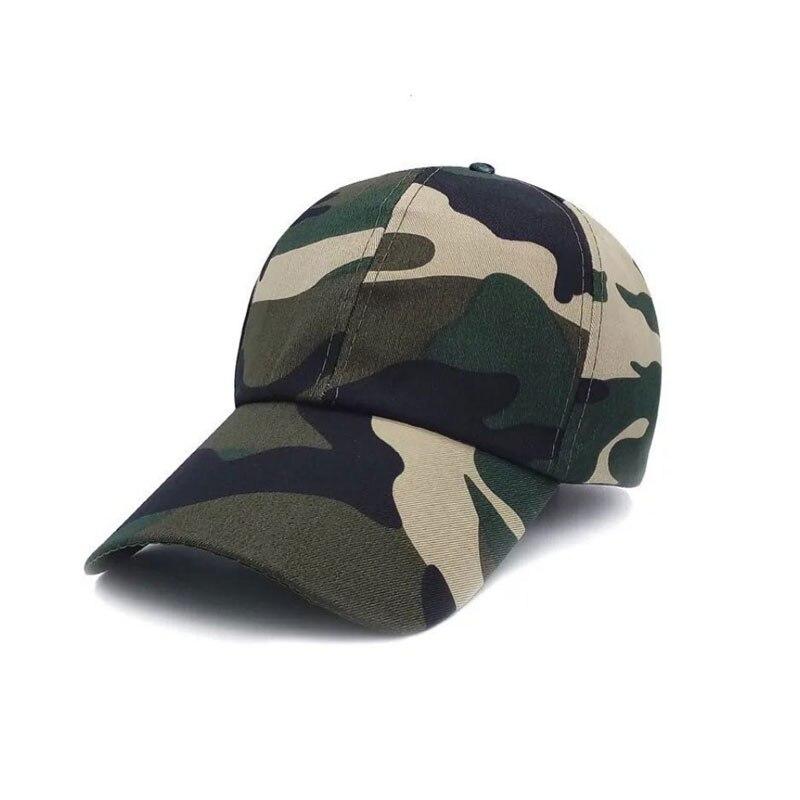 Охотничьи шапки Шапки для уличных видов спорта армейские мужские женские шапки специальные камуфляжные шапки бейсбольныей козырек шапки Распродажа - Цвет: Camo 4