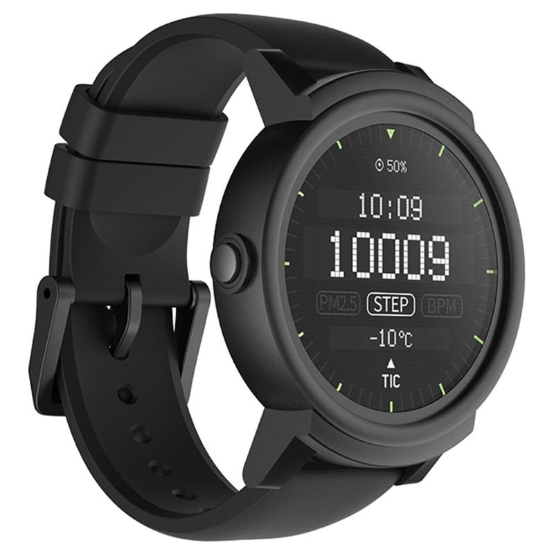 Ticwatch E Expres Smart Watch Android Wear OS MT2601 Dual Core IP67 Waterproof Bluetooth 4.1 WIFI GPS Smartwatch Phone GiftStrap