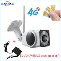 Full HD 960P HD Bullet IP Camera Wireless GSM 3G 4G SIM Card IP Camera Wifi Outdoor Waterproof cctv Camera IR Night Vision P2P