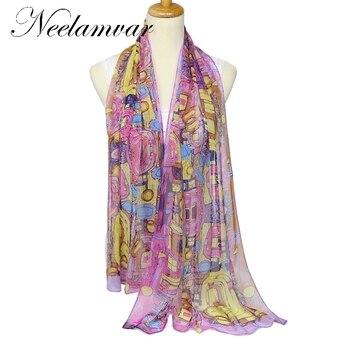 women Georgette 100% silk feeling  polyester  scarf thin  silk scarf spring  autumn winter accessories  summer sunscreen cape silk