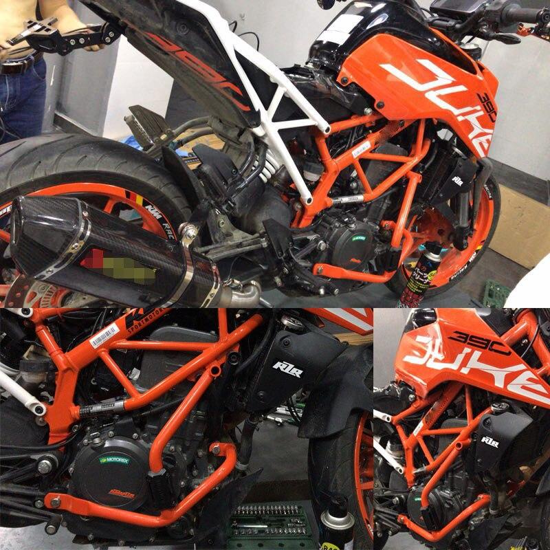 For KTM DUKE390 DUKE250 DUKE 390 250 2017 2018 Motorcycle Accessories Crash Bar Frame Engine Protection Guard Bumper