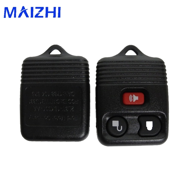 Maizhi 3 Buttons Flip Fob Remote Car Key Case 433mhz For Ford