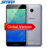 Original MEIZU M5S 4G FDD LTE Cell Phone 3GB 16 32GB MTK6753 Octa Core 5 2