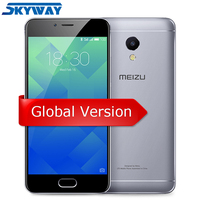 Original MEIZU M5S 3GB 16GB/32GB Global Version M612H MTK6753 Octa Core 4G LTE 5.2