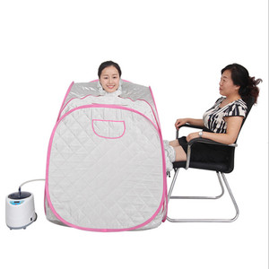 Portable Steam Sauna Folding family with Adults and children 2 in 1 slimming, detoxin, burning calaries foldable sauna
