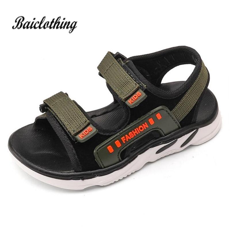 Boys Sandals 2018 Summer Kids Shoes