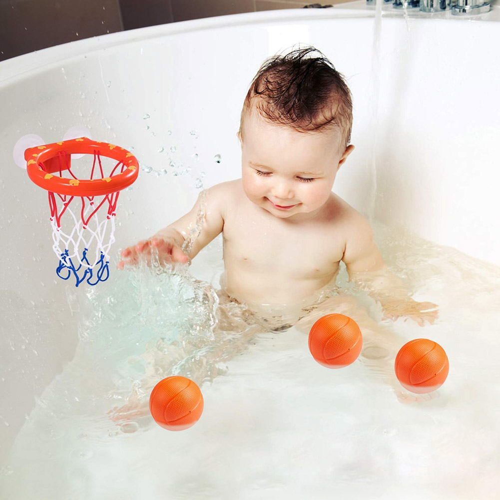 New Fashion Toddler Bath Toys Kids Basketball Hoop Bathtub Water Play Set For Baby Girl Boy Nsv775 Catalogues Will Be Sent Upon Request