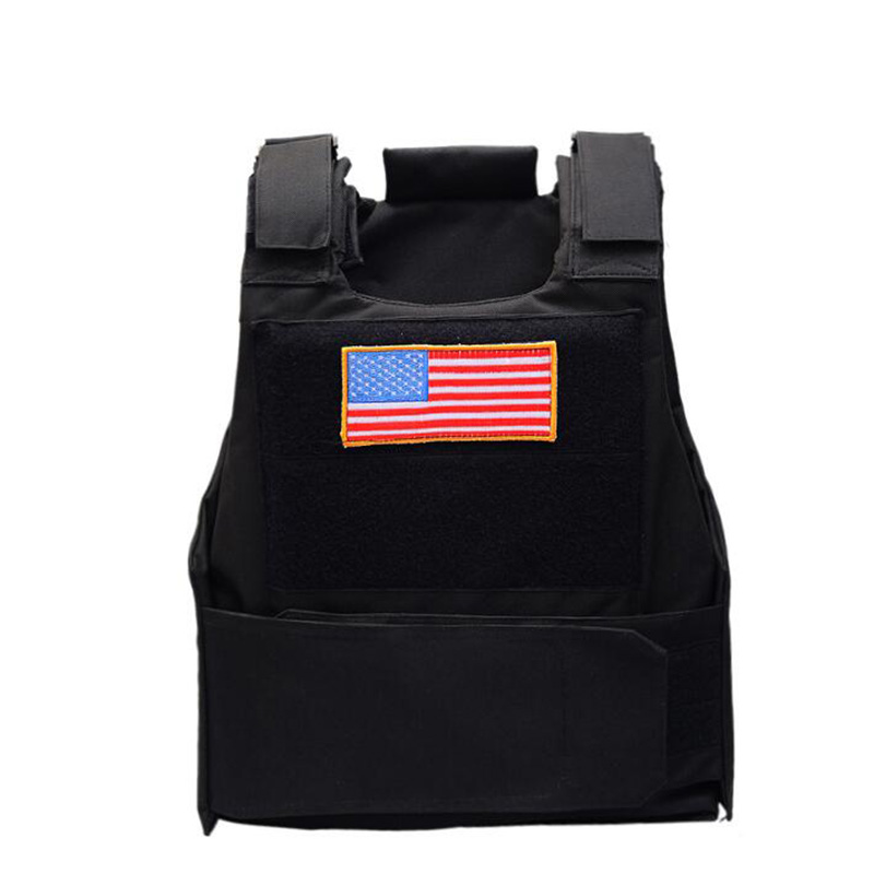 Cape Tactical Vest Men Special Forces SWAT Police Duty Vest Army Militar Hunter CS Security Work Protect Clothes Steel Plate