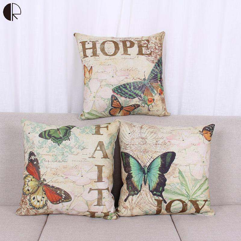 Home Decorative Throw Pillows Cushions Without Insert Digital