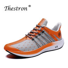 Thestron Men Summer Running Shoes Mens Big Size46 Sneakers Sport Children Lightweight Male Trainers