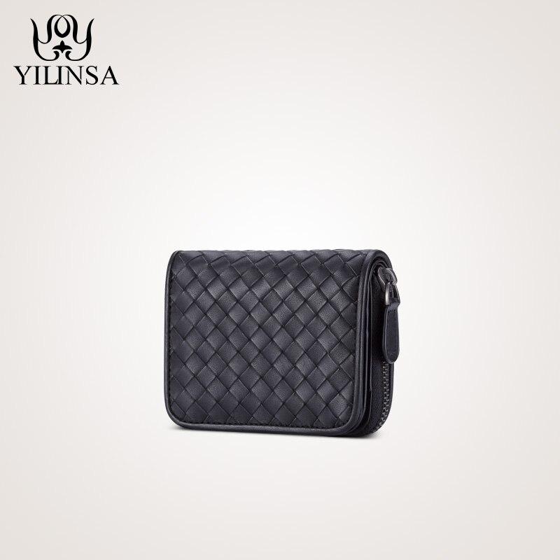 แฟชั่นผู้ถือบัตร Bifold กระเป๋าสตางค์หนังแท้และสุภาพสตรีสั้นมาตรฐานกระเป๋าถือกระเป๋าถือซิปกระเป๋าสตางค์-ใน กระเป๋าสตางค์ จาก สัมภาระและกระเป๋า บน AliExpress - 11.11_สิบเอ็ด สิบเอ็ดวันคนโสด 1