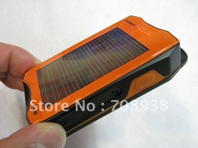 Portable GPS tracker sport outdoor equipment solar battery High Performance Waterproof IP65 JT600 GPS tracking system