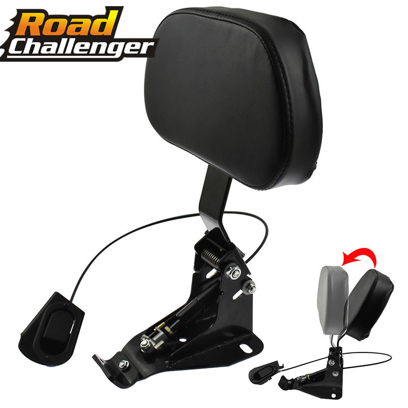 Voor Harley Touring Electra Road King Street Tour Glide Cvo Flhr 2009-2017 2018 Motorcycle Verstelbare Rider Rugleuning Montage Kit 2019 Official
