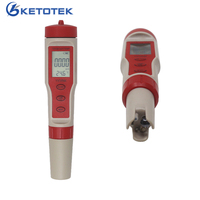 4 in 1 Aquariums PH TDS Meter EC Tester Temperature Monitor Digital Water Quality Detector for Pools Drinking Water