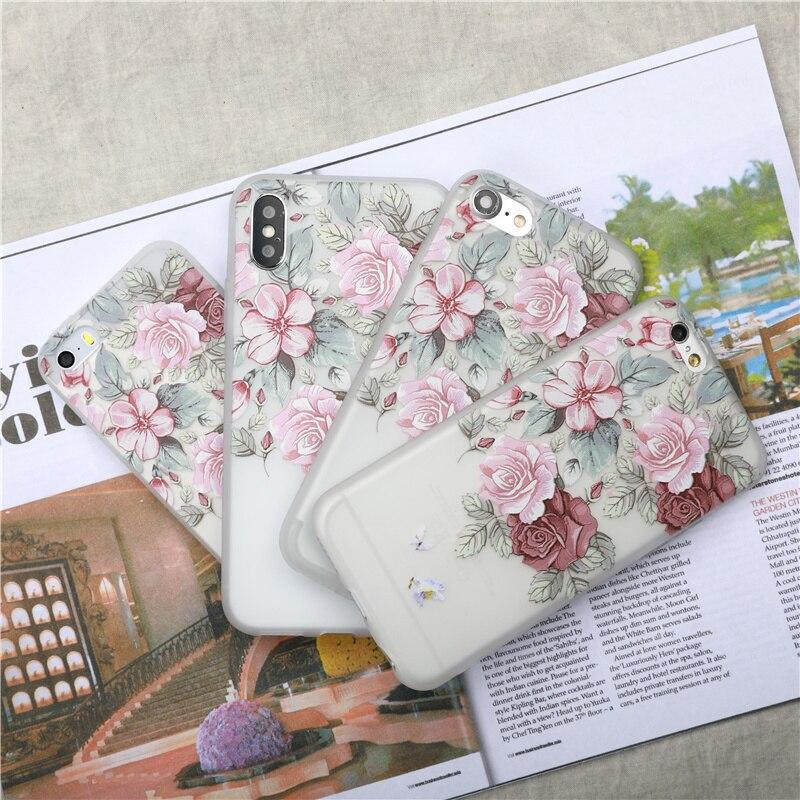 para-iphone-6-caso-3d-relief-flor-tampa-do-telefone-para-o-iphone-5-5s-se-7-6-6-s-8-plus-x-casos-claro-subiu-planta-floral-tpu-macio-coque