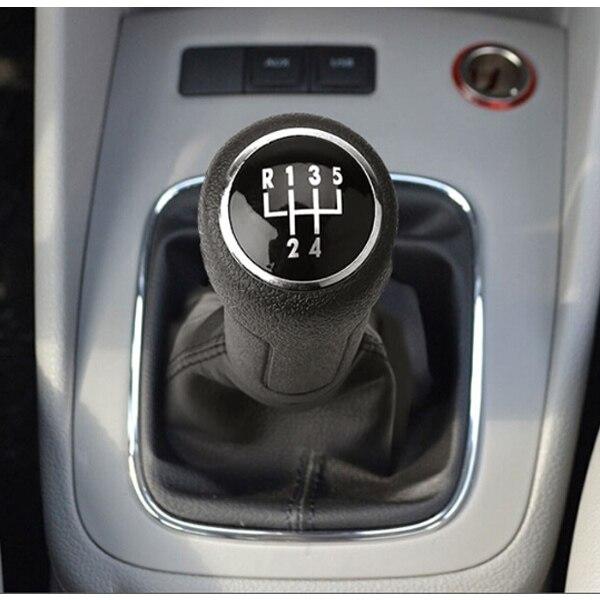 5 Speed Car Gear Shift Knob With Gaitor For Vw Polo 9n 9n2 2002 2003