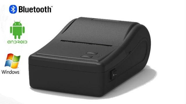 58 мм портативный ккм, 2 дюймов мини портативный Bluetooth мобильный QR код поддерживает android окна